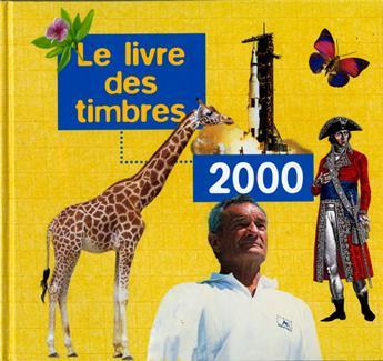LE LIVRE DES TIMBRE DE L´ANNEE 2000