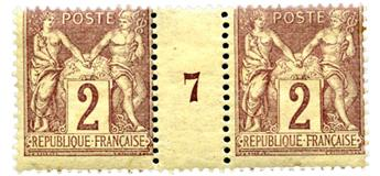 n°85** - Timbre FRANCE Poste