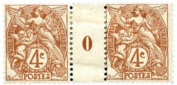 n°110* - Timbre FRANCE Poste