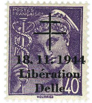 n° 3M** (MAYER) - Timbre France Libération (DELLE)