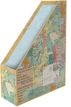 Porte-documents / revues World Atlas