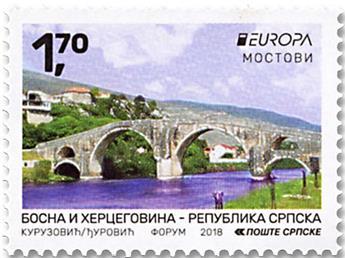 n° 685/686 - Timbre REPUBLIQUE SERBE (DE BOSNIE) Poste (EUROPA)