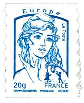 n° 852a - Timbre France Autoadhésifs