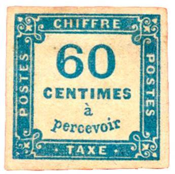 n°9(*) TB - Timbre FRANCE Taxe