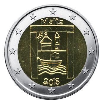 €2 COMMEMORATIVE COIN 2015 : MALTA