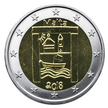 2 EURO COMMEMORATIVE 2018 : MALTE (Patrimoine culturel)