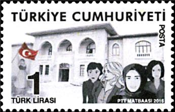 n° 3823 - Timbre TURQUIE Poste