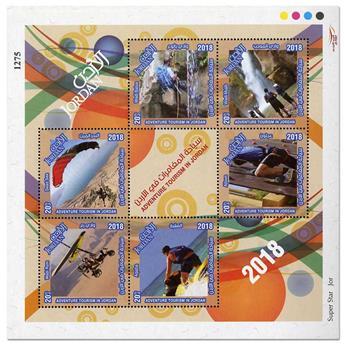 n° 139 - Timbre JORDANIE Blocs et feuillets