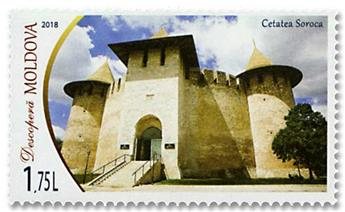 n° 918/919 - Timbre MOLDAVIE Poste