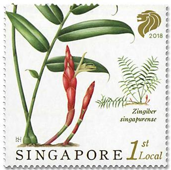 n° 2267/2270 - Timbre SINGAPOUR Poste