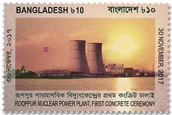 n° 1145 - Timbre BANGLADESH Poste