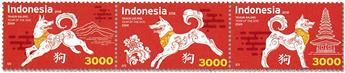 n° 2881/2883 - Timbre INDONESIE Poste