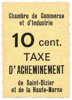 n°8** Saint-Dizier 1968 - Timbre FRANCE Grève (Saint-Dizier)