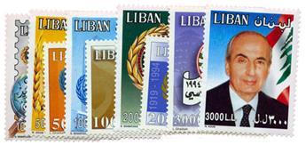 n°328/336** - Timbre LIBAN Poste