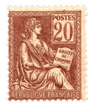 n°113** - Timbre FRANCE Poste