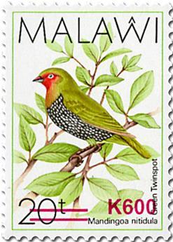n° 888/889 et n° 890/891 - Timbre MALAWI Poste