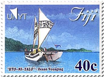 n° 1296/1299 - Timbre FIDJI Poste