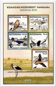 n° 57 - Timbre BOTSWANA Blocs et feuillets