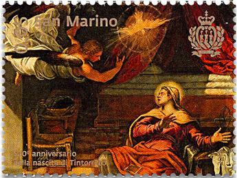 n° 2557/2560 - Timbre SAINT-MARIN Poste