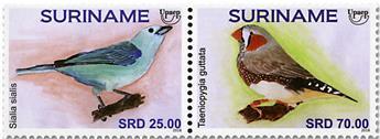 n° 2783/2784 - Timbre SURINAME Poste