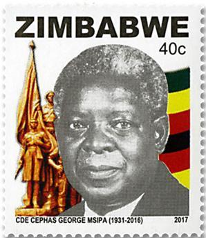 n° 810/813 - Timbre ZIMBABWE Poste