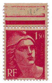 n°712a** - Timbre FRANCE Poste