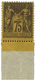 n°99a** - Timbre France Poste
