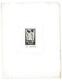 n°579 - Timbre France Epreuve d´atelier