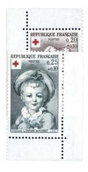n°1366/1367a** - Timbre France Poste