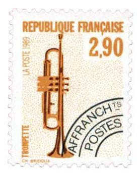 n°204A** - Timbre France Préoblitérés