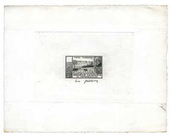 n°193 - Timbre Nouvelle Calédonie Epreuve d´atelier