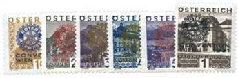 n°398A/F* - Timbre Autriche Poste