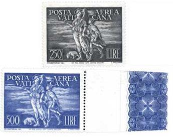 n°16/17** - Timbre Vatican Poste aérienne