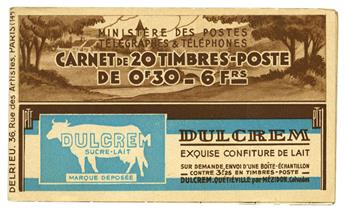 n° 360-C1 - Timbre France Carnets