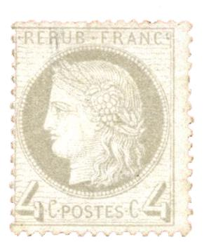 n°52(*) - Timbre FRANCE Poste