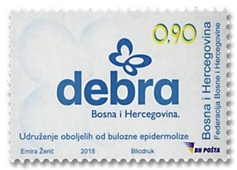n° 803 - Timbre BOSNIE-HERZEGOVINE Poste
