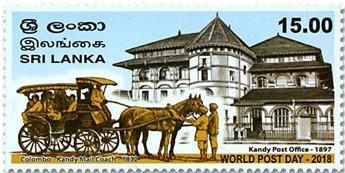 n° 2171 - Timbre SRI LANKA Poste