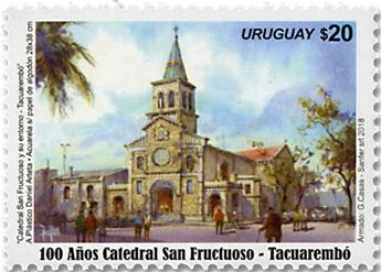 n° 2902 - Timbre URUGUAY Poste