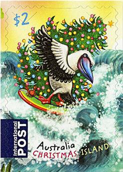 n° 891 - Timbre CHRISTMAS (ILE) Poste