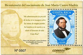 n° 68 - Timbre COSTA RICA Blocs et feuillets