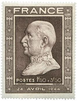 n°606a** - Timbre FRANCE Poste