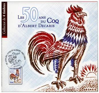 France : Collector 50 ans du coq de Decaris