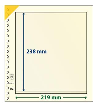 Feuille neutre LINDNER-T : 1 bande-802111 (x10)
