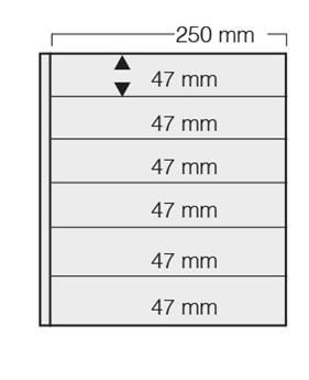 FEUILLE GARANT BLANC (x5) SAFE® (Ref 726)