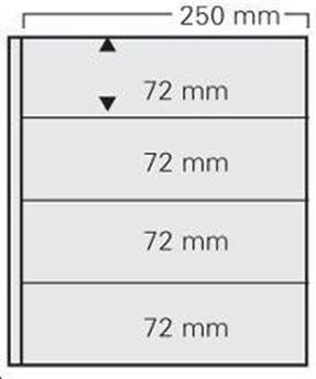 FEUILLE GARANT NOIR (x5) SAFE® (Ref 734)