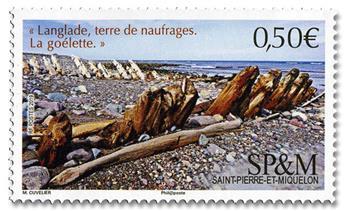 n° 1215 - Timbre Saint-Pierre et Miquelon Poste