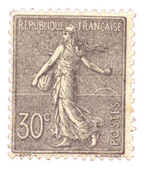 n°133** - Timbre FRANCE Poste