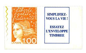 n.o 16a -  Sello Francia Autoadhesivos