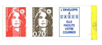 nr. 5b -  Stamp France Self-adhesive