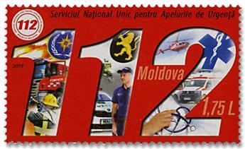 n° 939 - Timbre MOLDAVIE Poste
